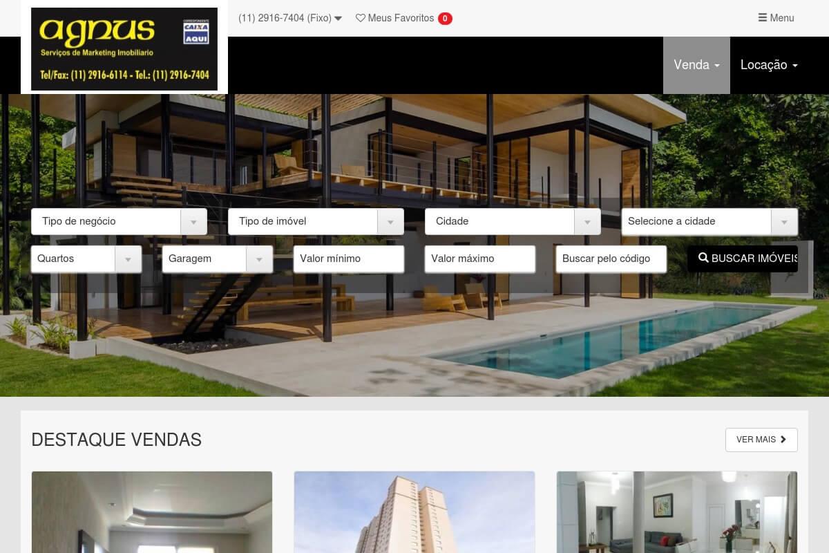 Cliente - Agnus Serviços Imobiliários
