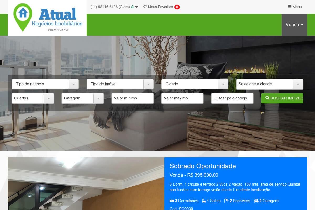 Cliente - Atual Negócios Imobiliários